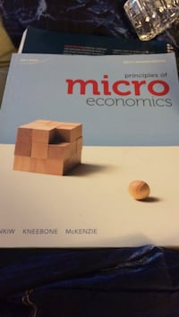 Principles of Micro Economics book
