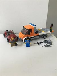 Lego City Flatbed Truck #60017