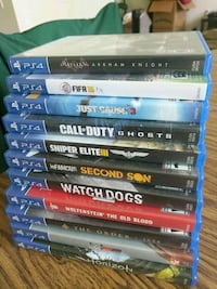 Various PS4 games Vancouver, 98661