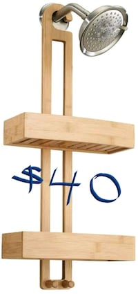 Brand new bamboo shower caddy Toronto, M4C 5K1
