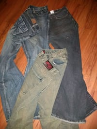 three pair of men's jeans 38 x 32 sold together Manassas, 20109