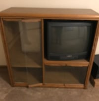 Small entertainment stand