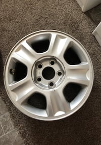 Set of rims from 2004 ford escape 80$ Salina, 67401