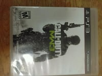 Call of Duty MW3 PS3 game case 2358 mi