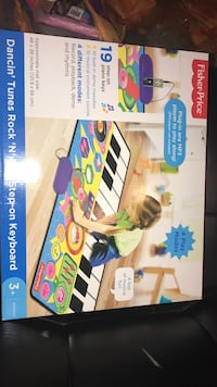 fisher price walk on piano New In Box Abington, 02351