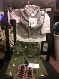 Baby boys outfit an shoes BRAND NEW never worn as 6 months Lafayette, 70501