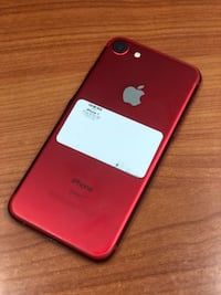 Red iPhone 7 128GB (CARRIER UNLOCKED)