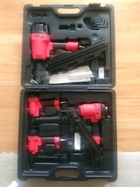 4 Campbell Hausfeld nail guns in case Arlington, 22201