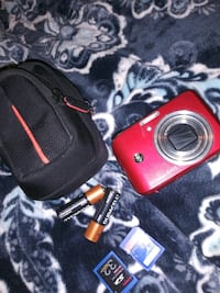 red general electric point and shoot camera