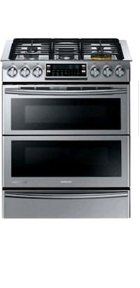 SAMSUNG CHEF COLLECTION DUAL FUEL DOUBLE OVEN RANGE