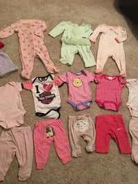 Baby girl clothes lot 0-3 months 332 mi