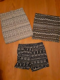Short and Skirts from H&M, size Small