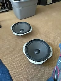two black-and-gray subwoofers Upper Marlboro, 20774