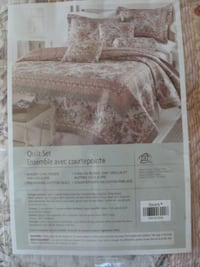 NEW 3 pc quilt set         Havelock, ON K0L 1Z0, Canada