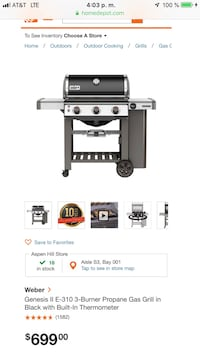 BRAND NEW WEBER GRILL Silver Spring, 20902