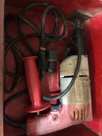 red and gray corded power tool Piscataway, 08854