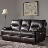 Reclining Leather Couch Miami, 33142