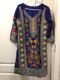 Women's blue and red traditional dress Brampton, L6V