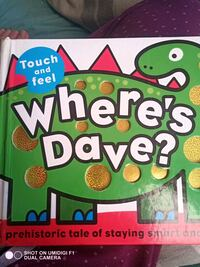 Where's Dave? Children's touch and feel book Toronto, M6K 2E2