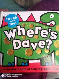 Where's Dave? Children's touch and feel book