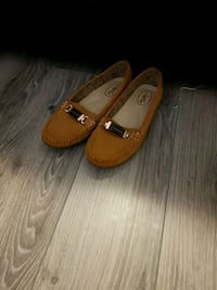 pair of brown suede loafers Brampton, L7A 0G2