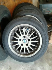 Goodyear tires & BMW wheels great