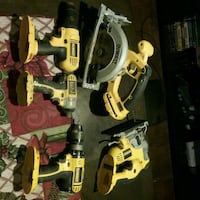 yellow and black DEWALT power tool set Kitchener, N2M 4C8