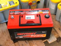 Oddysey deep cycle agm 12 volt 100ah series 31 battery