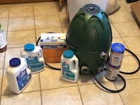 Coleman Saluspa Pump, Filters and Chemicals Baltimore, 21231