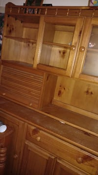 brown wooden cabinet with mirror Abilene