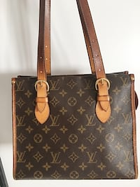 Tote bag in pelle Louis Vuitton marrone monogrammata Filago, 24040