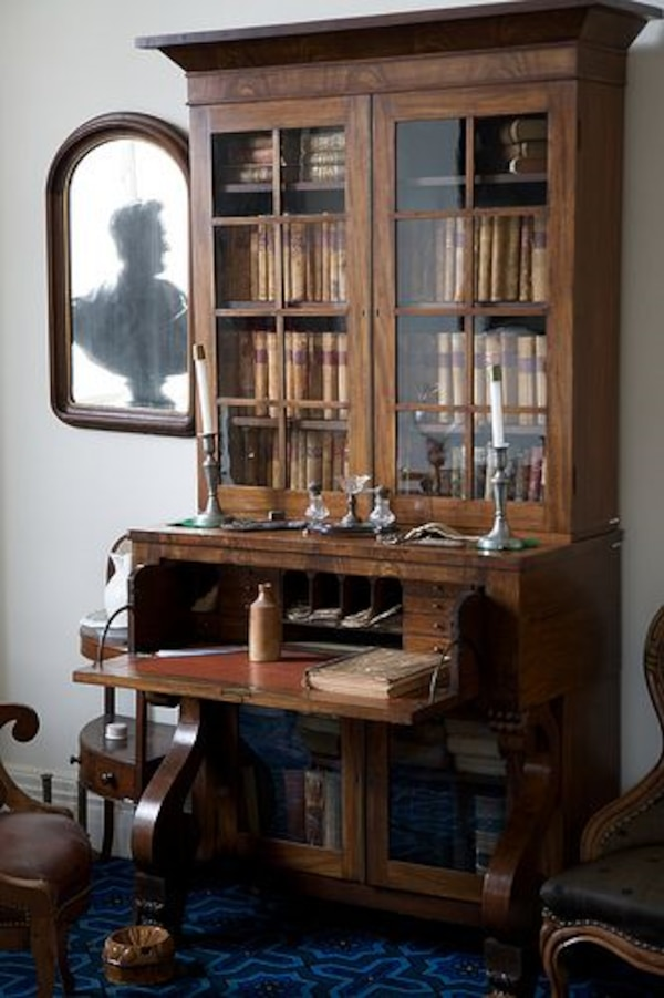 Magnificent Viunage Antique Desk And Hutch For Sale Home Interior And Landscaping Ologienasavecom