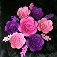 pink and purple rose flowers bouquet 27 km