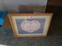 pink and blue quoted photo frame Martinsburg, 25401