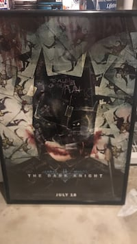 Rare The Dark Knight - 48 x 36 Movie Poster Germantown, 20874