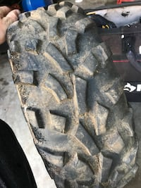 I have 3 22-8-12 four wheeler tire two 22inch by 8 rear tires wismech vape and a miller welder don't have leads Temple, 30179