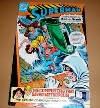 DC Comics Superman comic book Anderson