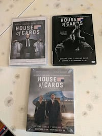 House of cards first 3 seasons