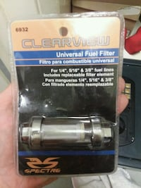Spectre Clearview Universal Fuel Filter  Norfolk, 23505