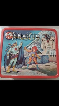 Vintage  Thundercats lunch box New York, 10001