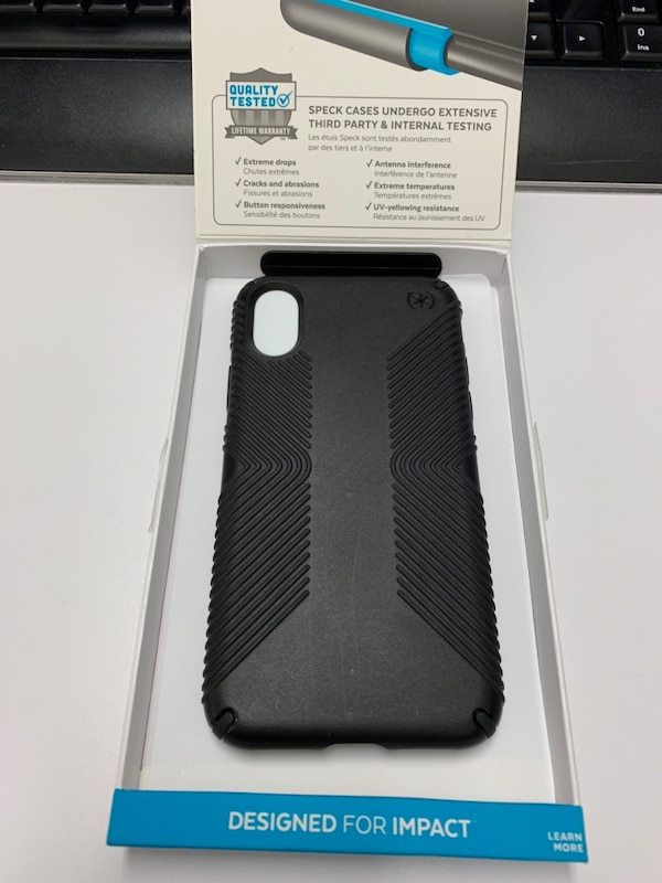 Speck Presido Grip Case for iPhone X/XS