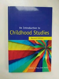 An introduction to childhood studies  Mississauga, L5R 3Z5