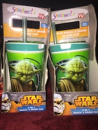 Star Wars Snack and Cup $5 each  Bakersfield, 93309