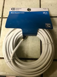 25 ft coax cable