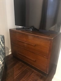 Vintage file cabinet used as TV stand Toronto, M8Z 3L4