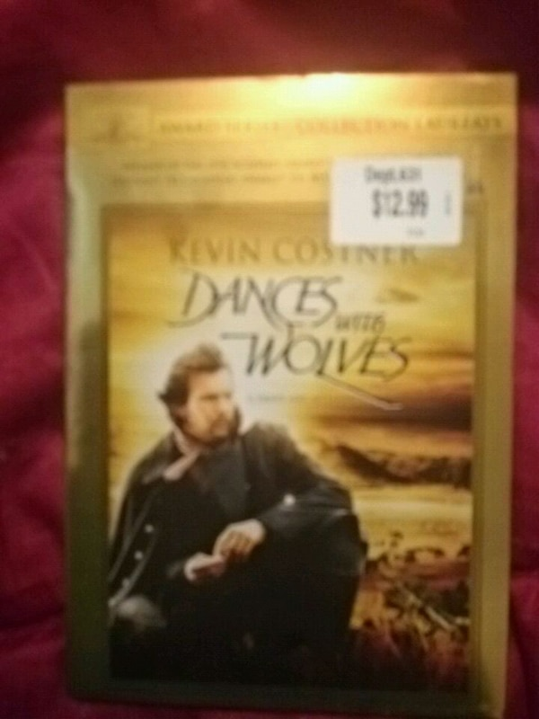 Dances with Wolves dvd brand new