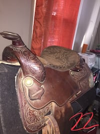 Hereford Tex Tan western saddle Elizabethtown, 17022
