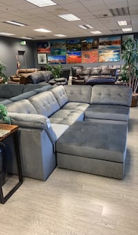 Sofa Sectional & Free Ottoman