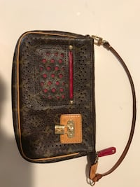 Authentic Louis Vuitton perforated clutch Toronto