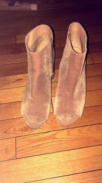 Nine West booties (size 10) Calgary, T3K 4B1